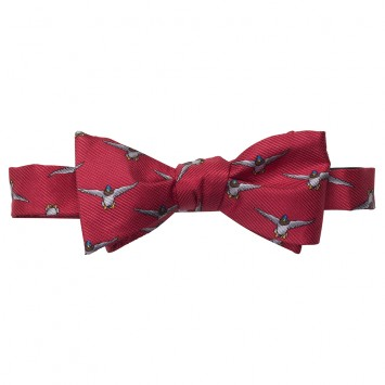 WM. Lamb & Son - Mallard In Flight Bow - Red